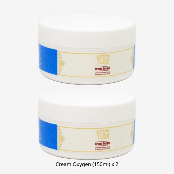 Cream Oxygen (150ml) x 2pcs