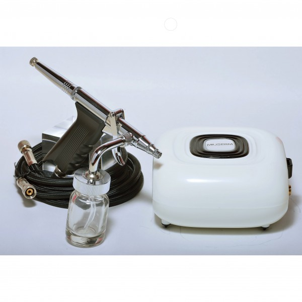 O2 Serum + Air Compressor Set